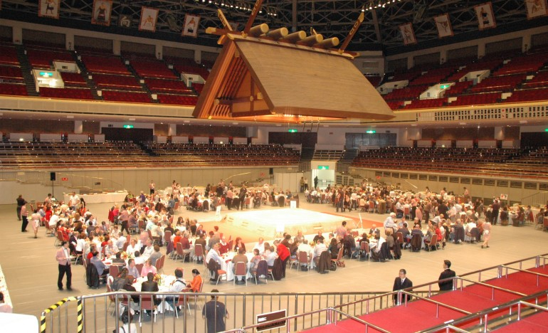 A Meeting Venue Found Only In Japan  -Ryogoku Sumo Stadium-